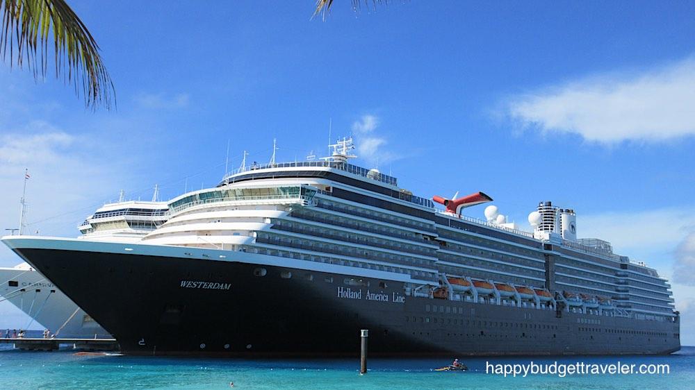 Cruise ship Westerdam, Holland America Lines.