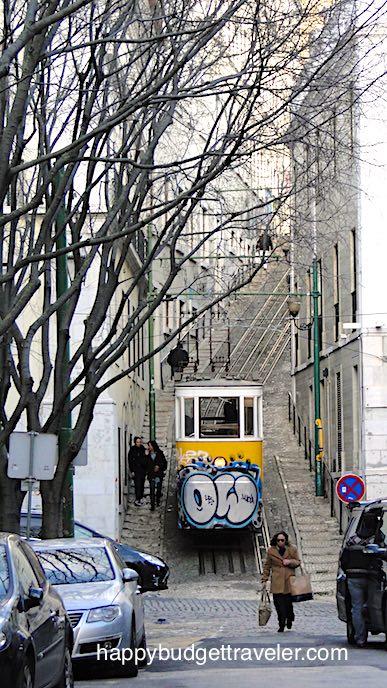Elevador/Funicular in Lisbon