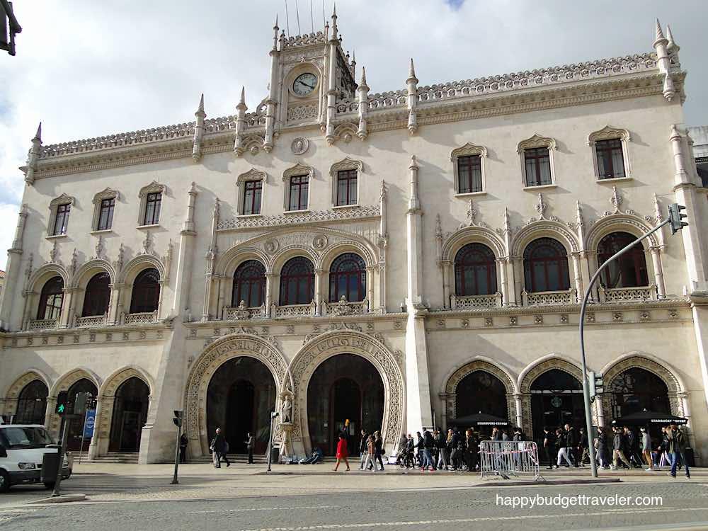Rossio railway station, Lisbon