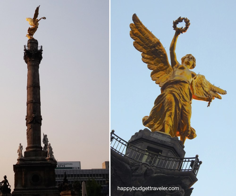 Angel of Indepedence, Mexico City
