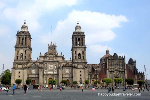 Cathedral, zócalo, Mexico-city