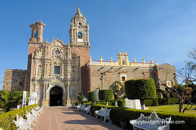 Church of San Francisco Acatepec, Cholula, Puebla-Mexico