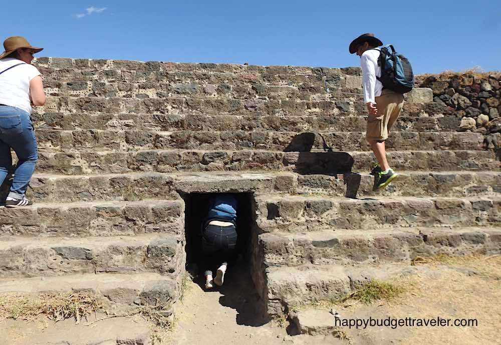 Drainage tunnel, Teotihuacan, Mexico city