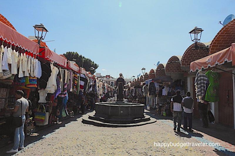 Mercado el Parian, Puebla-Mexico