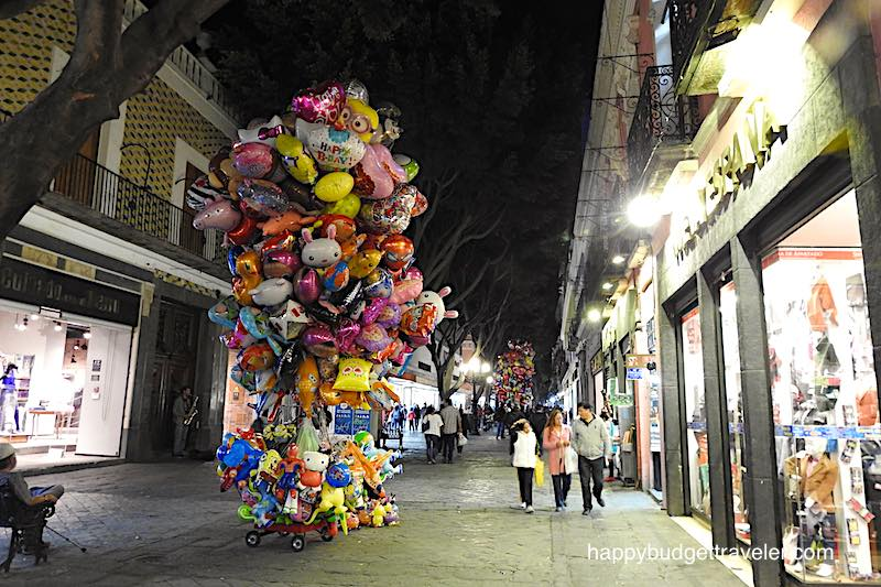 Night market, Puebla-Mexico
