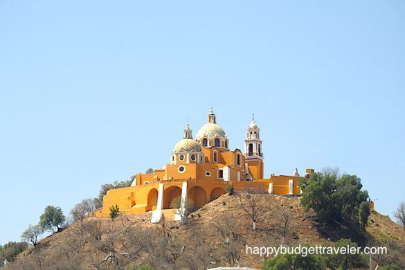 Nuestra Señora de los Remedios, Cholula, Puebla-Mexico