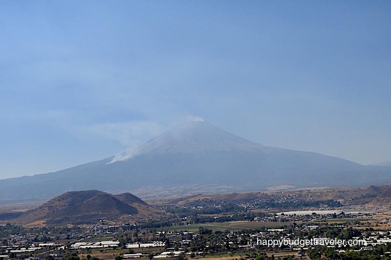 Popocatépetl volcano, Atlixco-Cholula-Mexico