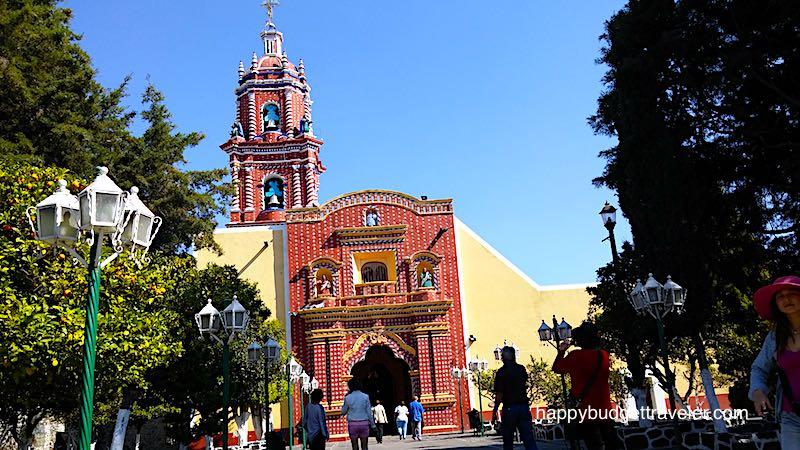 Santa Maria Tonantzintla, Cholula, Puebla-Mexico