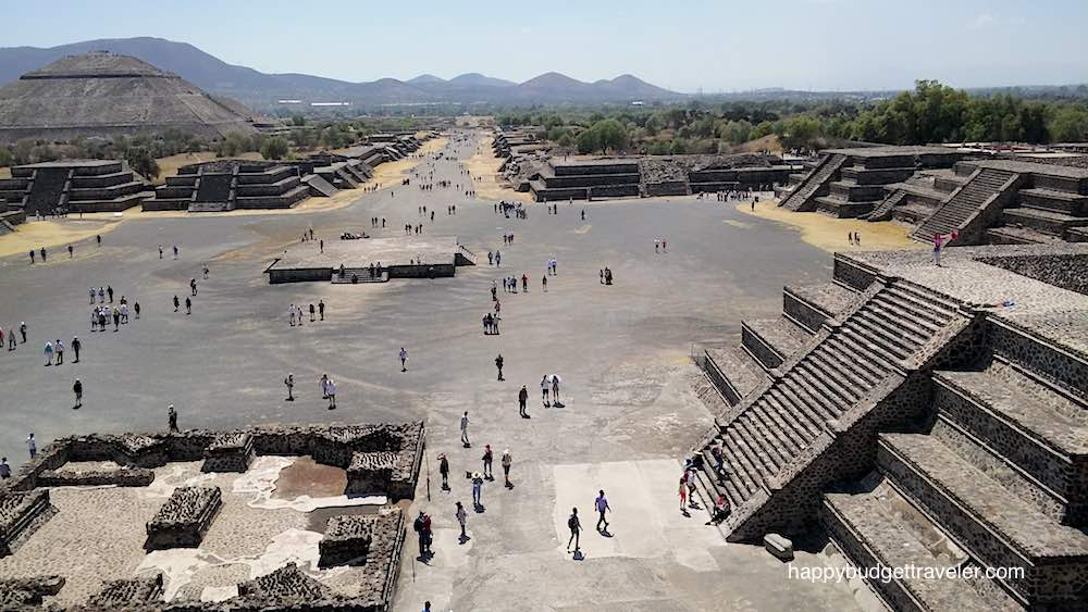 Street of the dead, Teotihuacan, Mexico
