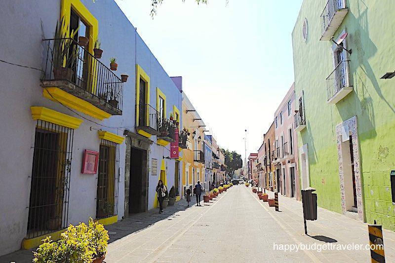 Street, Puebla-Mexico