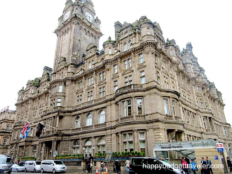The Balmoral Hotel, Edinburgh-Scotland.