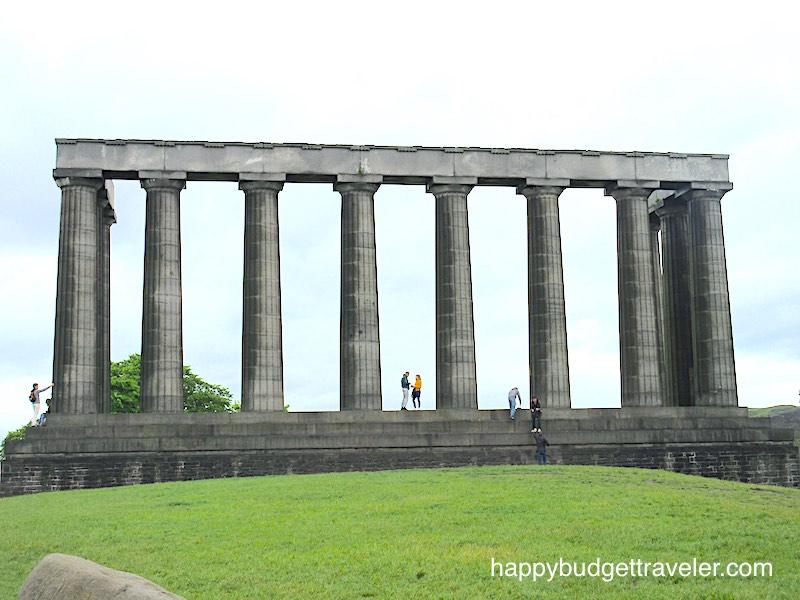The National Monument, Edinburgh-Scotland.
