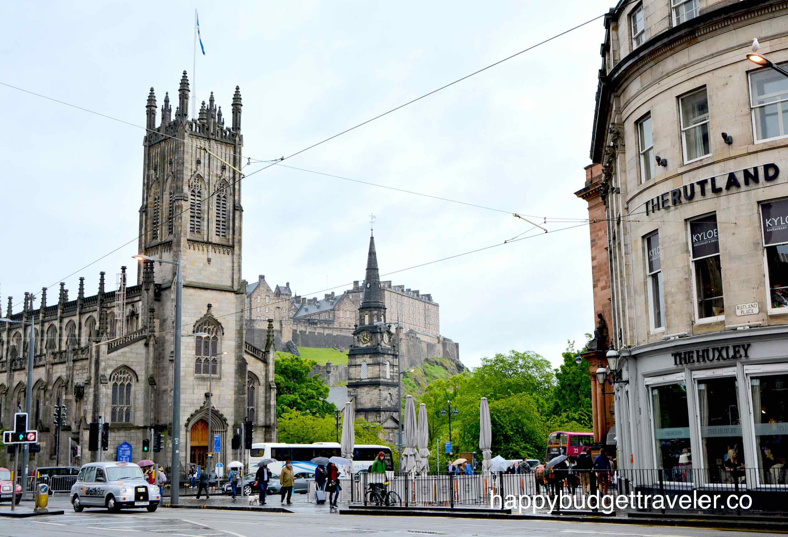 St. John's Episcopal Church, Edinburgh-Scotland.