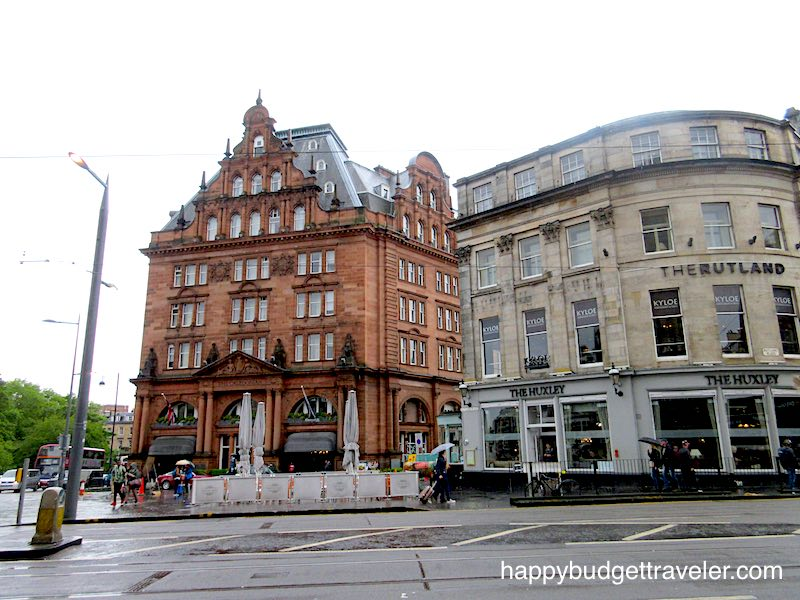 Waldorf Astoria, Edinburgh-Scotland.