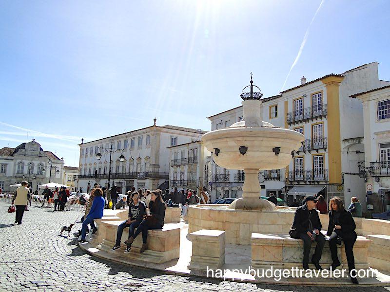 Henriquina fountain, Évora Portugal.