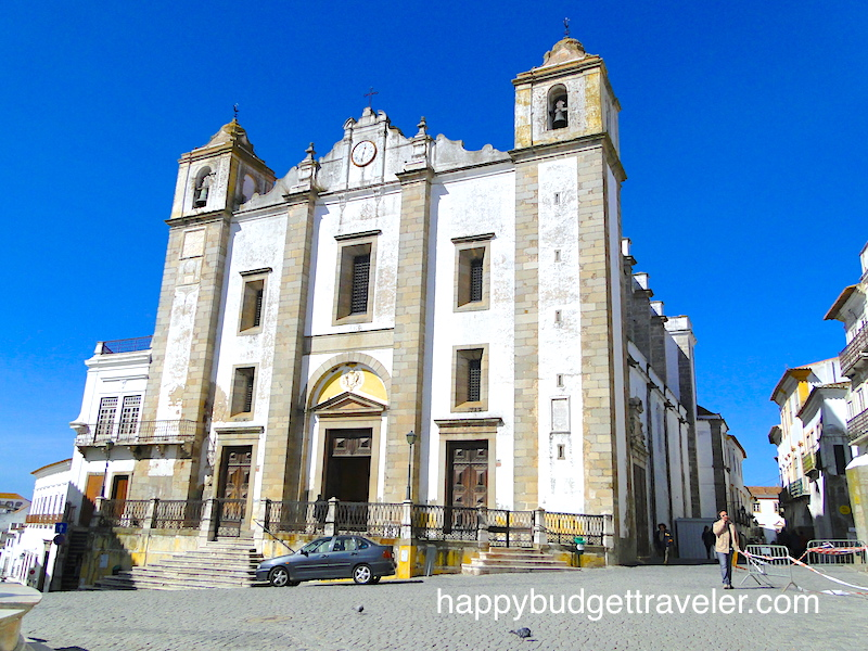 Saint Andrew's church, north of the town square in Évora, Portugal.