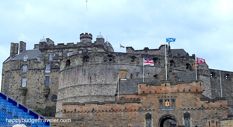Edinburgh Castle-Scotland.