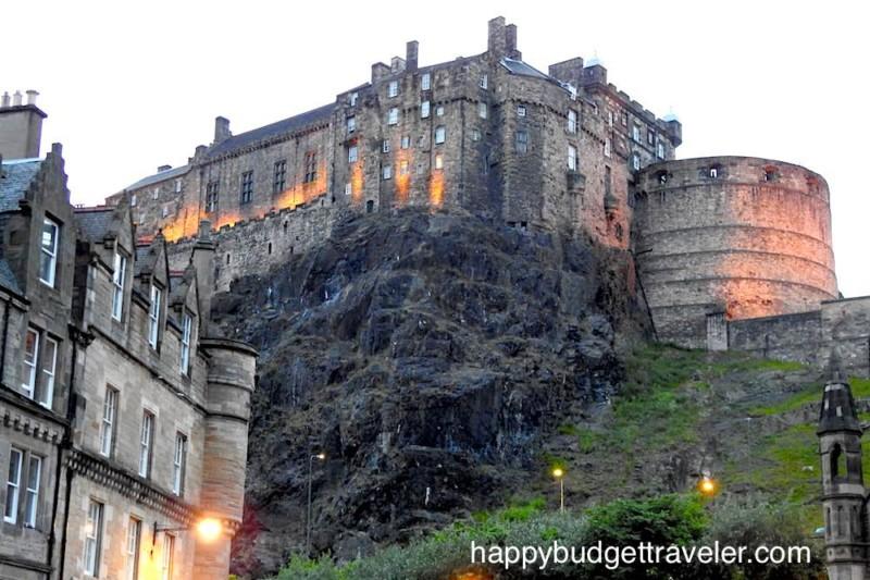 Edinburgh Castle, Scotland.