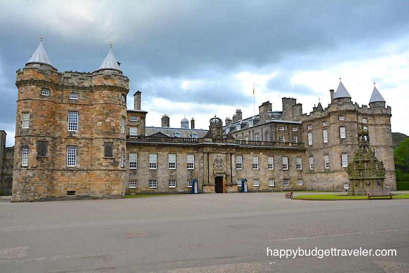 Holyrood Palace, Edinburgh-Scotland.