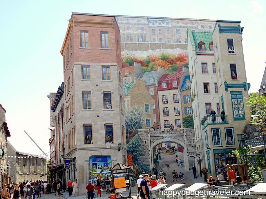 Mural, Quebec City