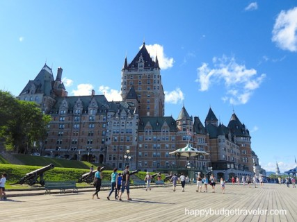 Quebec City, Canada—Historic Walled City With Artistic Murals And Great Architecture