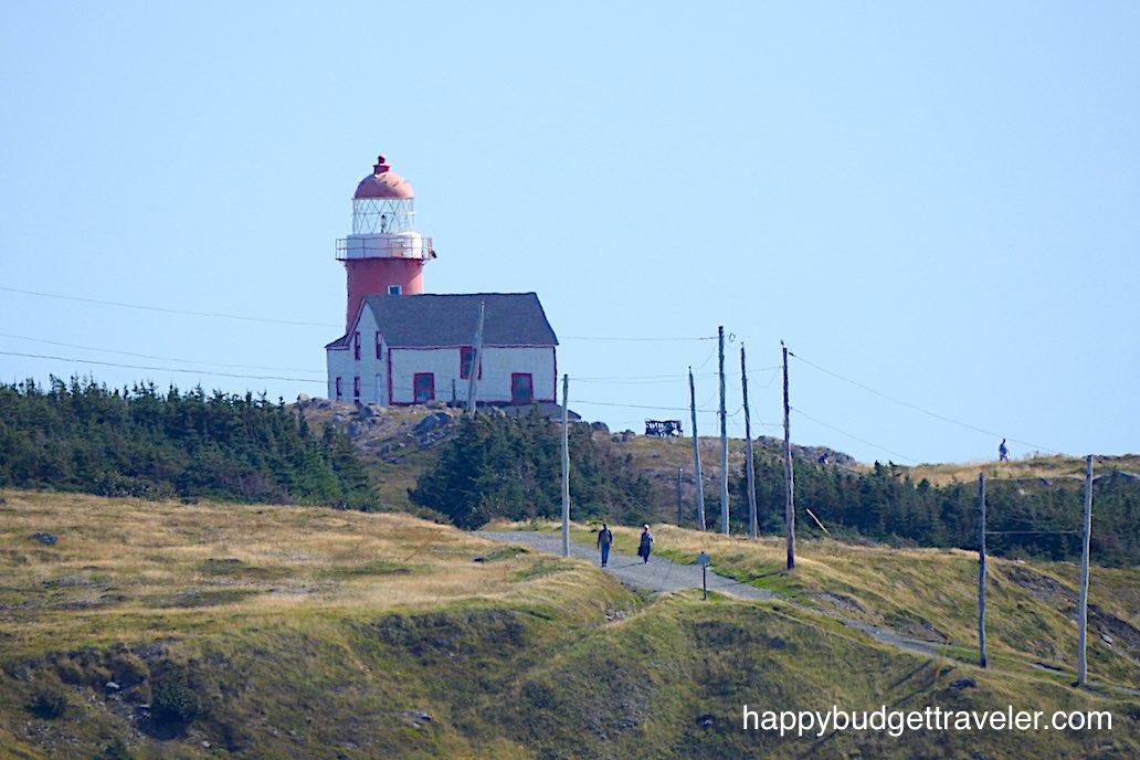 Lighthouse at Ferryland, Newfoundland.