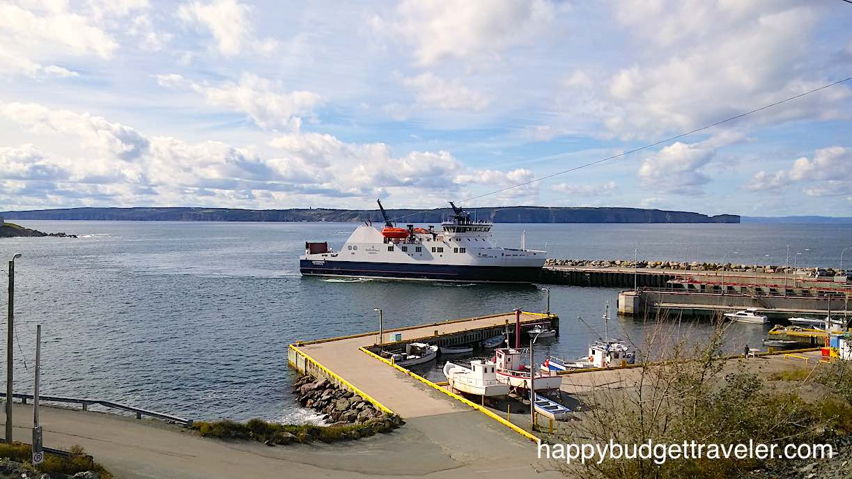 Ferry at Portugal Cove to Bell Island.