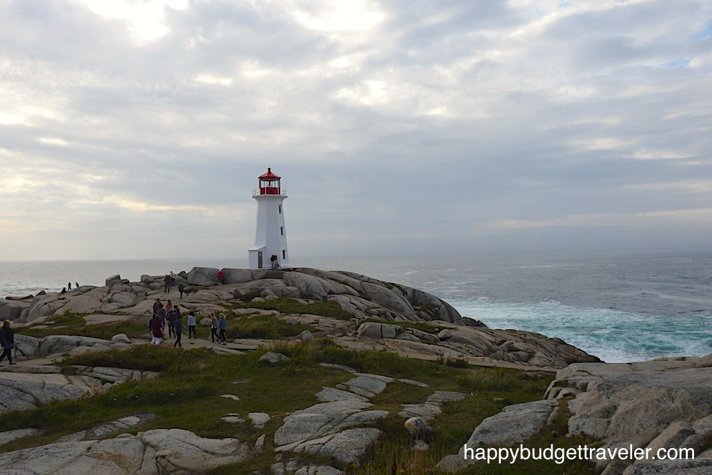 Lighthouse at Peggy's Cove, Nova Scotia.