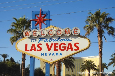 Picture of the Welcome sign in Las Vegas
